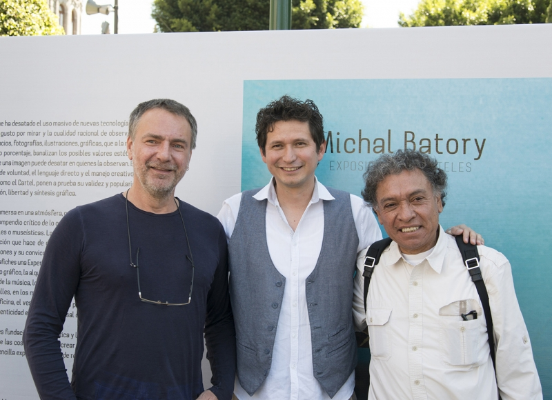 Michal Batory, Benito Cabañas et Germàn Montalvo Puebla, Mexique