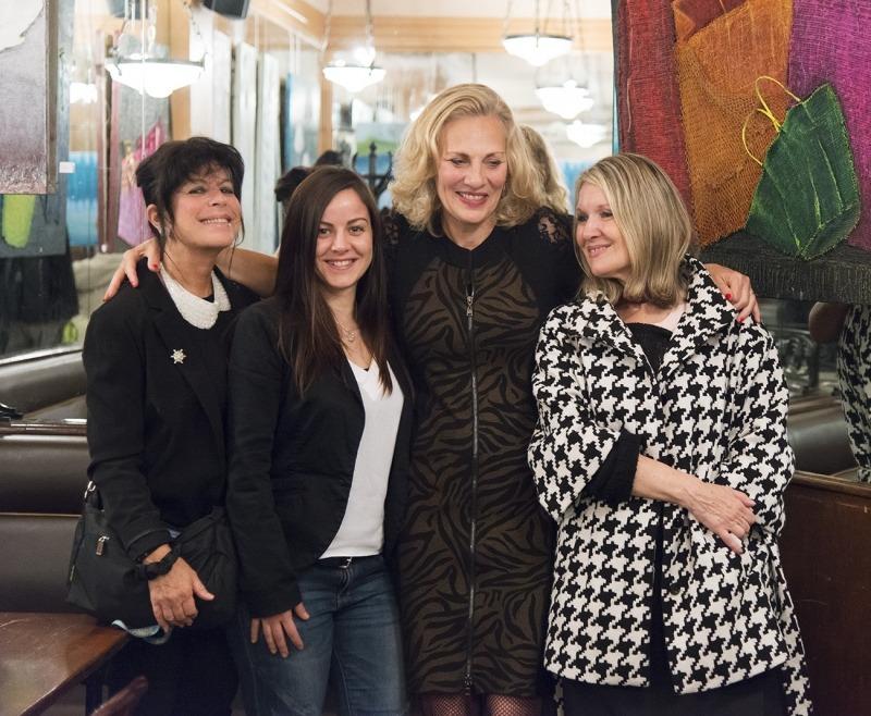 Katy Sroussy, Sandrine Gauthier, Iris Alter et Mylène Vignon