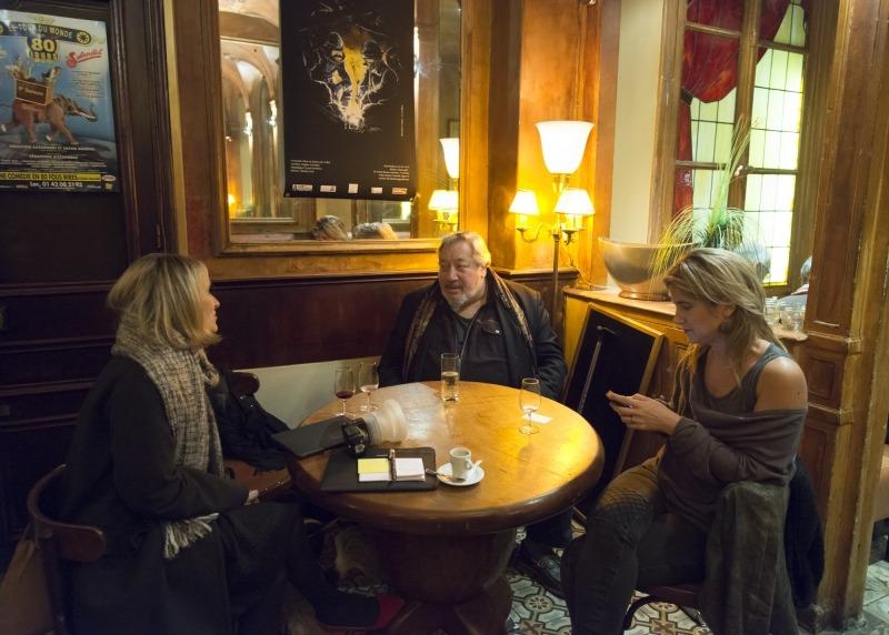 Mylène Vignon, Jean-Claude Dreyfus et Daphné de Gironde, , Photo Woytek Konarzewski