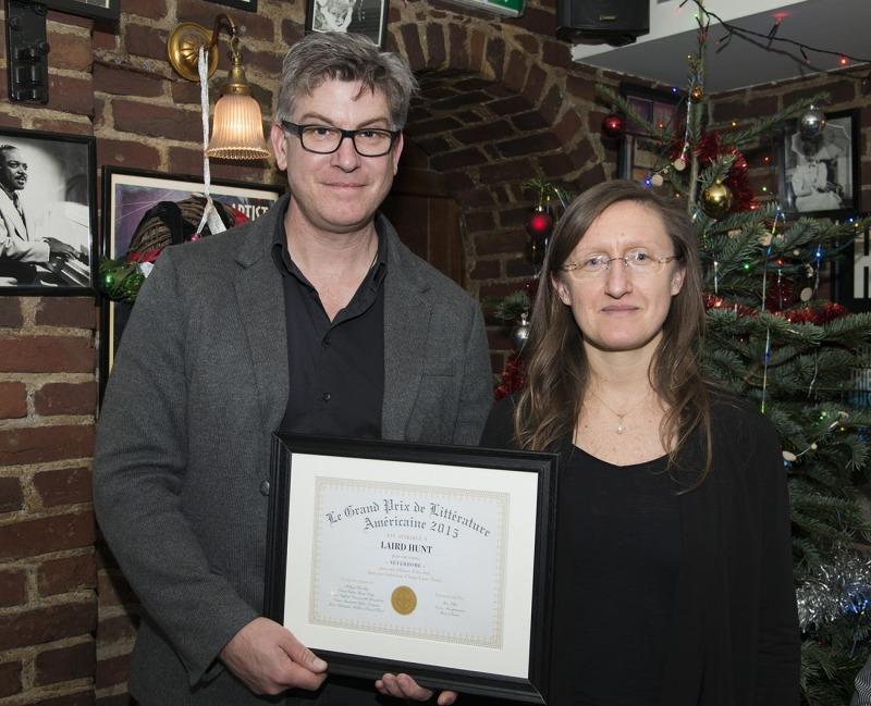 Laird Hunt et Anne-Laure Tissut, Photo: Woytek Konarzewski