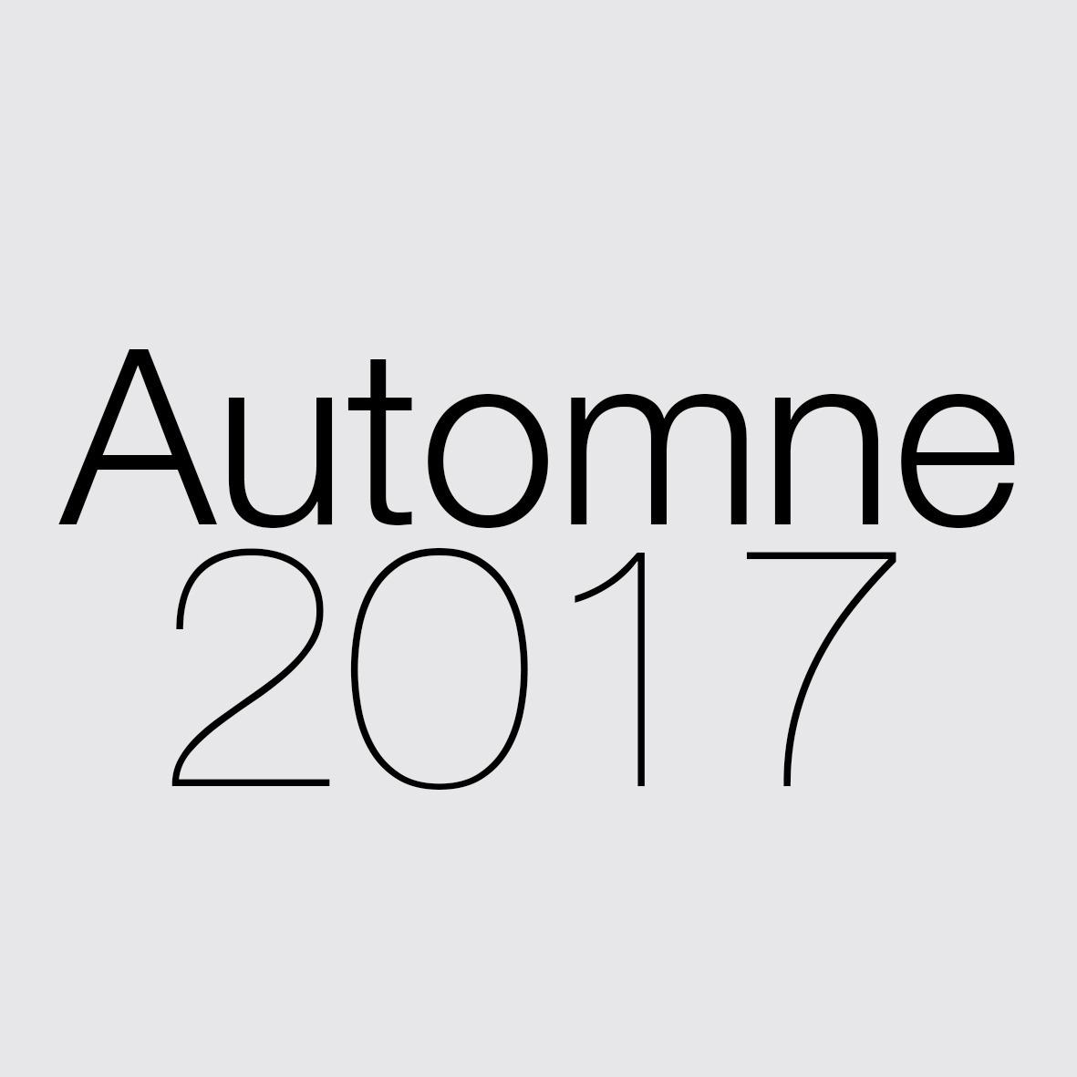 Automne 2017