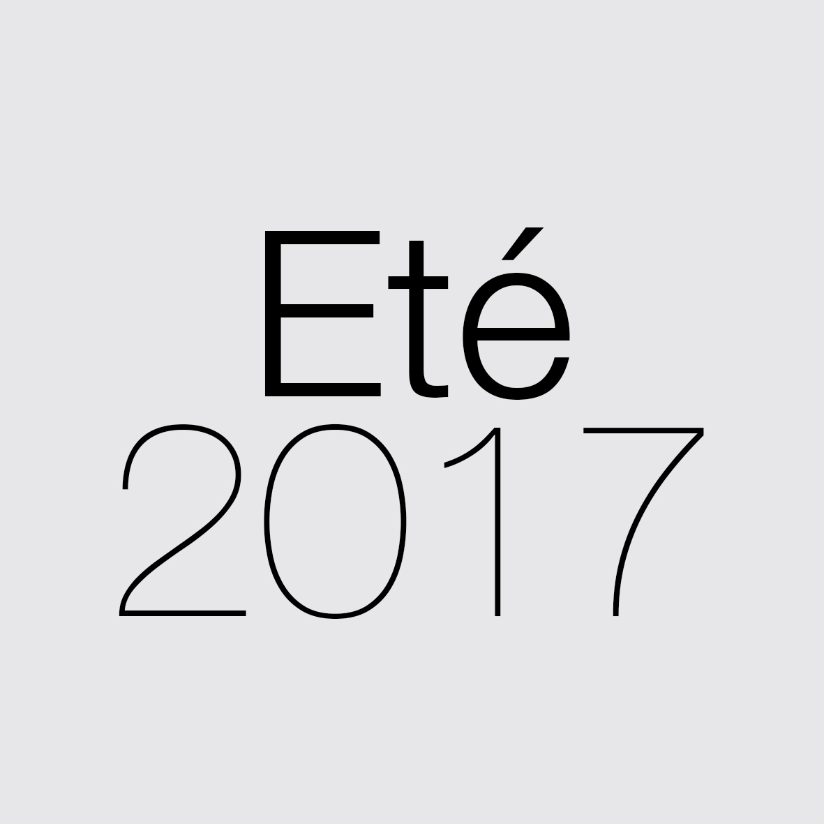 Été 2017