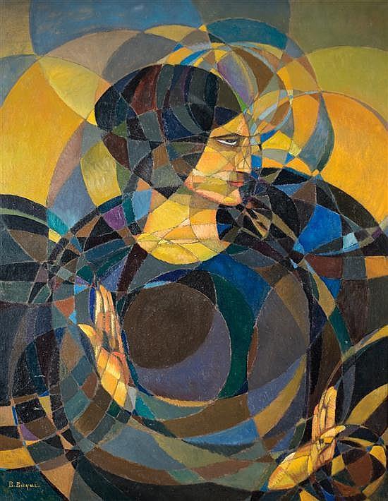 Boleslaw Biegas, vers 1919, « Gestes rituels », huile sur toile.