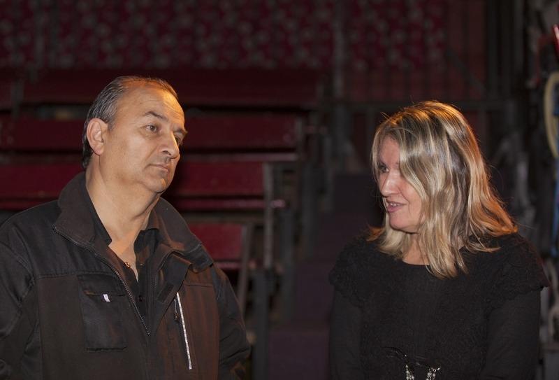 Mylène Vignon et Alexandre Romanès