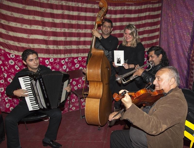 Musiciens tziganes