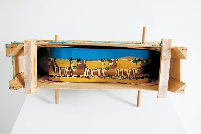 Hans Krüsi, Untitled (kuhmaschine), 1980