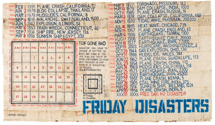 George Widener, Friday Disasters