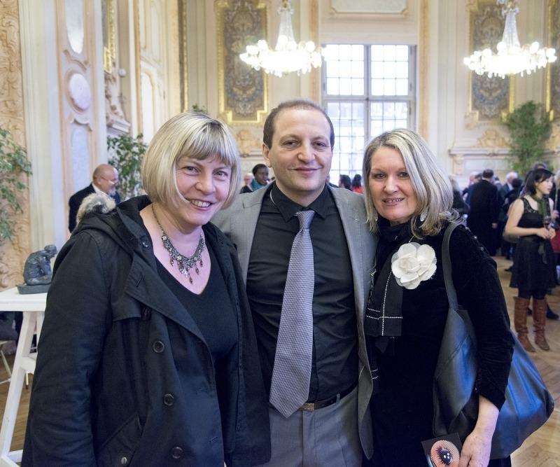 Sophie Sainrapt, Rodolphe Oppenheimer et Mylène Vignon