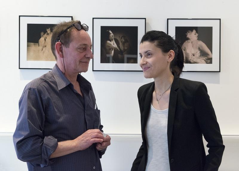 Myriam Bouagal et Philippe Bourgoin