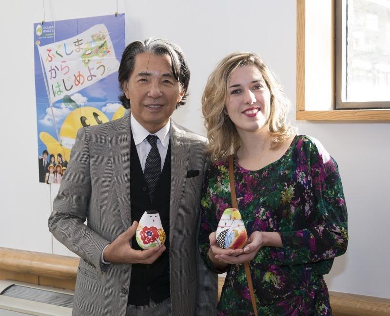 Kenzo Takada et Sophie Bosselut