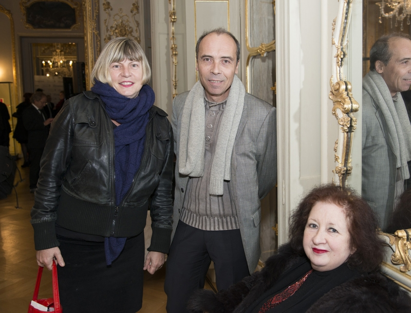 Sophie Sainrapt, Albert Lefranc et Josette Rispal