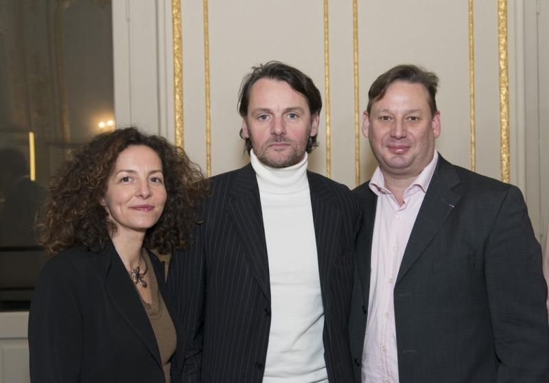 M. et Mme Eric Le Goff et Adrien Perreau