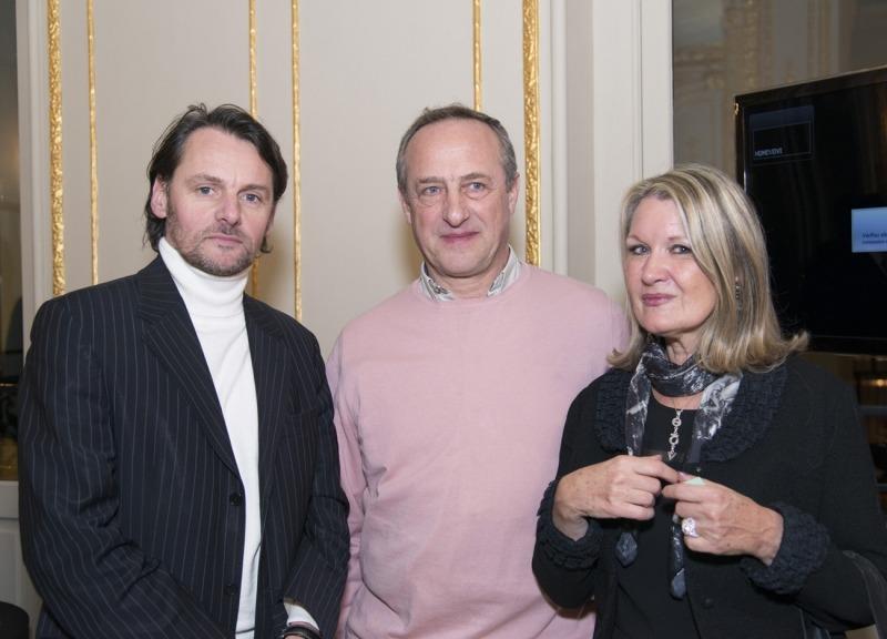 Eric Le Goff, Jerzy Neumark et Mylène Vignon