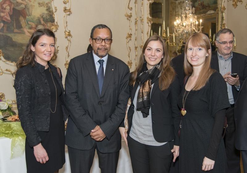 Marie Caucanas, Dominique Legros, Daniela Rochow et Sandra Dostert