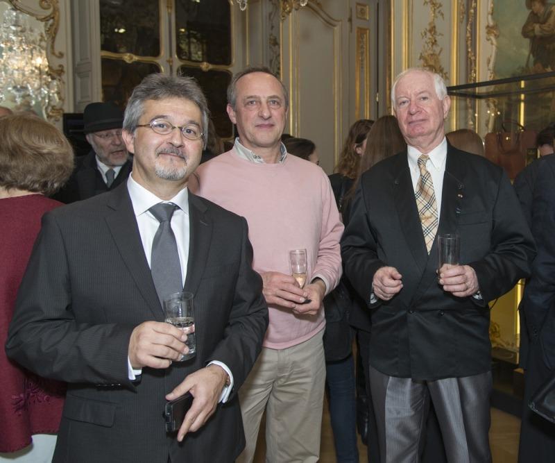 Jean-Claude Arrata, Jerzy Neumark et Jean-Claude Baudry