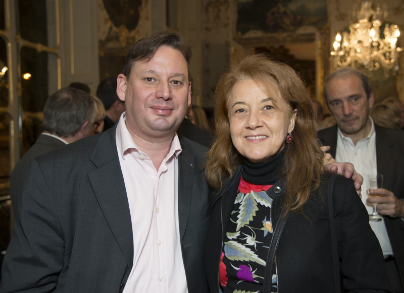 Adrien Perreau et Véronique Grange-Spahis