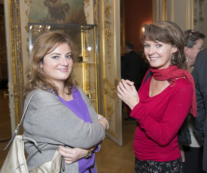 Isabelle Péchou et Anne Dorr