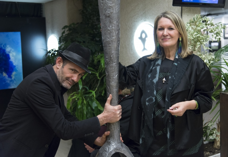 Kasper et Mylène Vignon