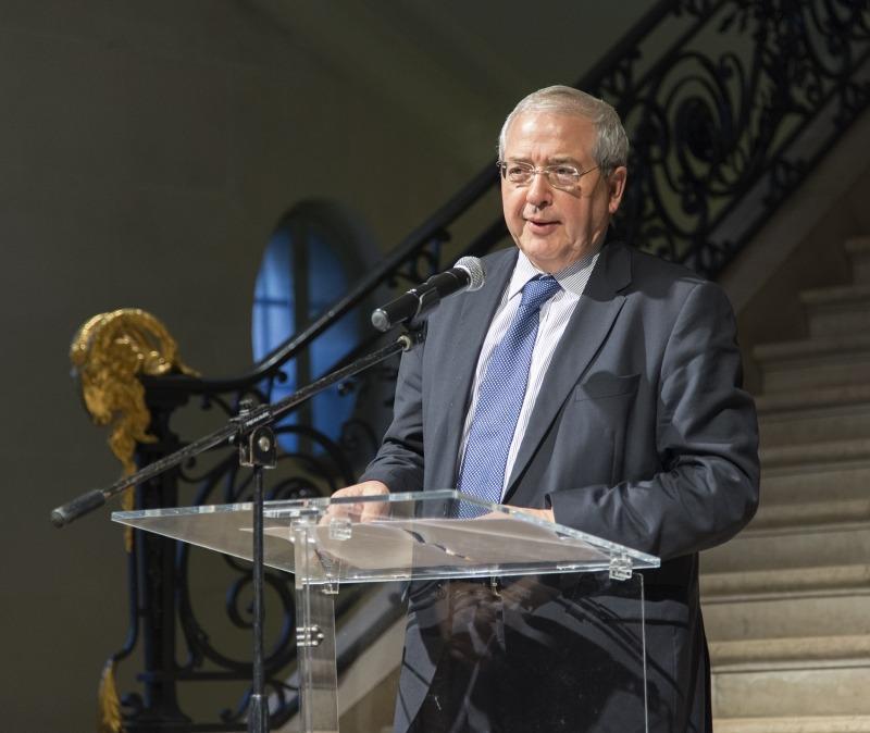 Jean-Paul Huchon Président du Conseil Régional d'Ile-de-France