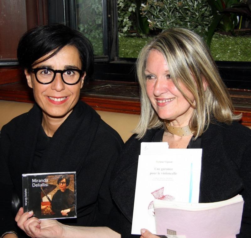 Miranda Deliallisi et Mylène Vignon , Photo: Adrien Perreau