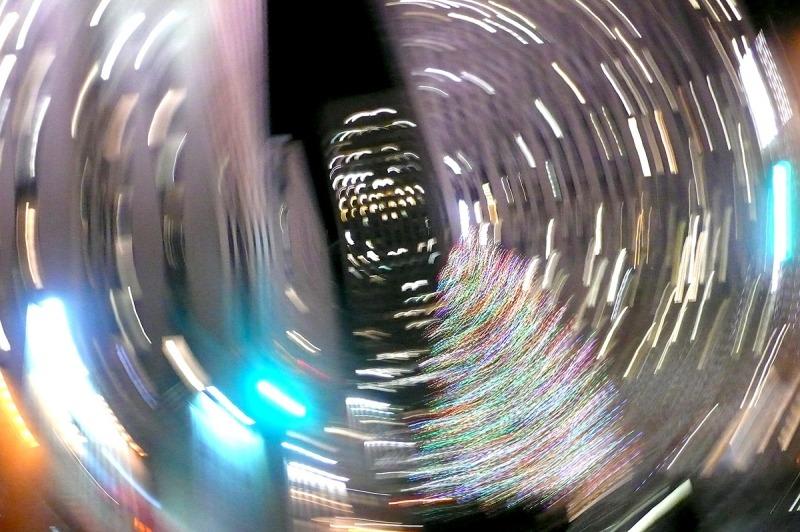 Spirale New Yorkaise Décembre 2011, © Eleonore Nitzschké