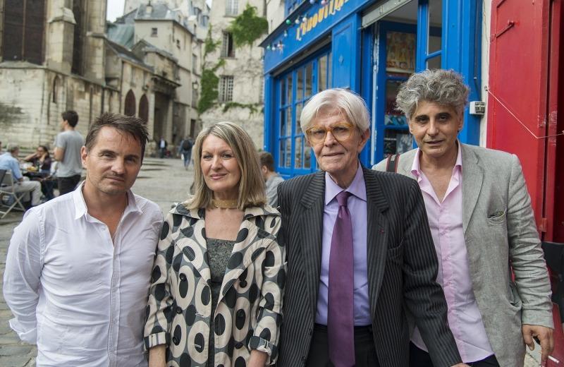 Alain Laub, Mylène Vignon, Henry Chapier et Jean Merhi