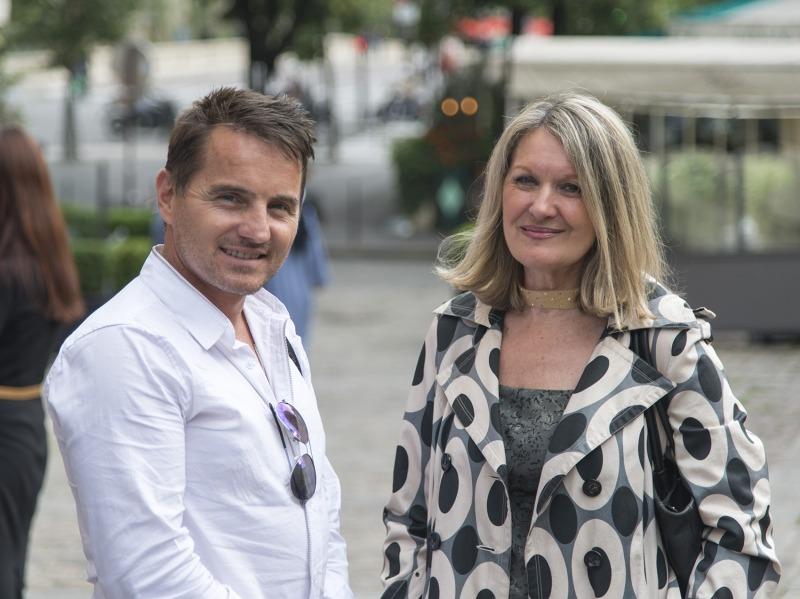 Alain Laub et Mylène Vignon