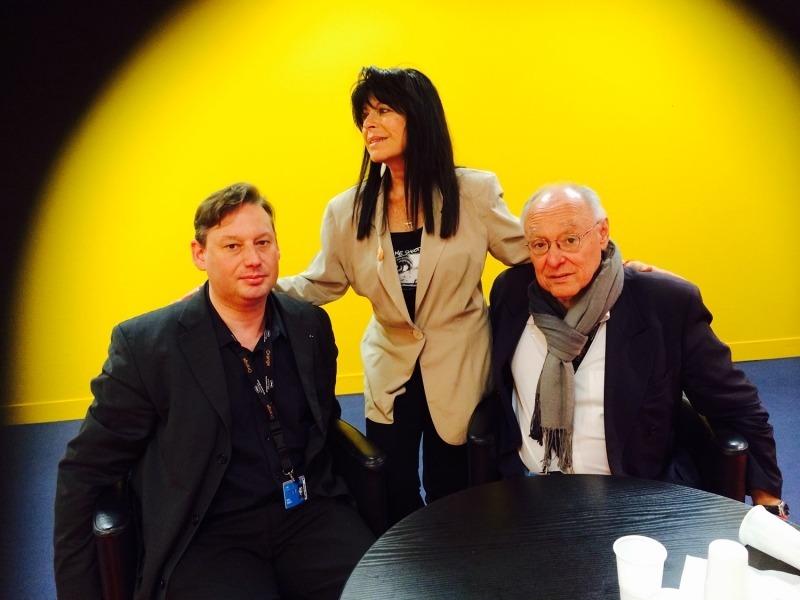 Adrien Perreau, Katy Sroussy et Marc Sandberg